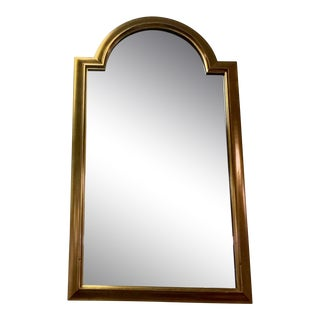 1970s Mid-Century Modern La Barge Gold Wall Mirror For Sale