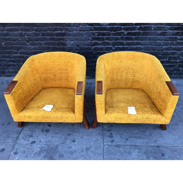 Mid Century Lounge Chairs by Chelmode Furniture - A Pair For Sale - Image 10 of 13
