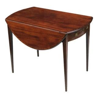 English Sheraton Pembroke Table of Mahogany For Sale