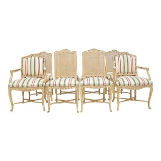 Country French Dining Chairs - Set of 8