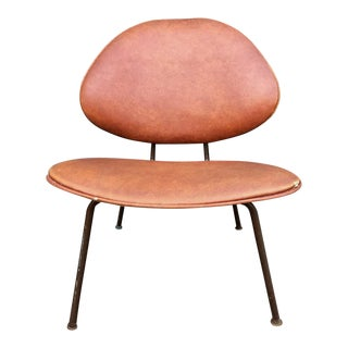 Mid Century Modern Clam Shell Chair For Sale