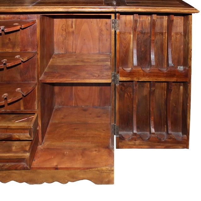 Mango Wood Bar Cabinet - Image 5 of 10