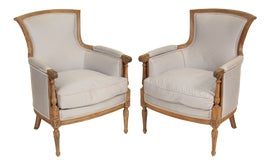 Image of Neoclassical Revival Accent Chairs