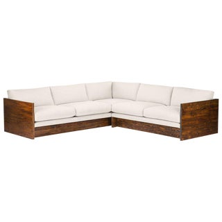 Modern Norton Chaise Sectional Sofa | Chairish