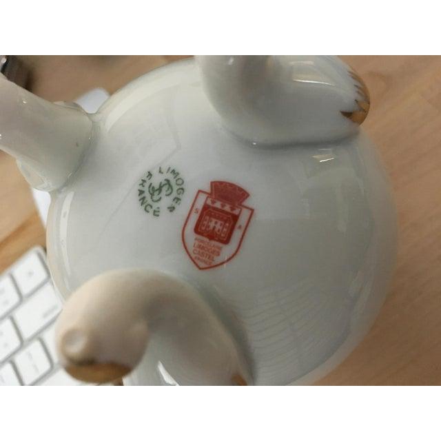 Ceramic Limoges Porcelain Egg Vase For Sale - Image 7 of 8
