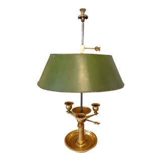 19th Century French Bouillotte Lamp For Sale
