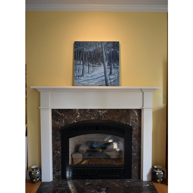 """Stephen Remick """"Silent Moonlight"""" Contemporary Expressionist Landscape Painting For Sale - Image 9 of 9"""
