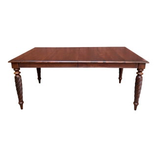 1990s Ethan Allen Livingston Dining Table For Sale