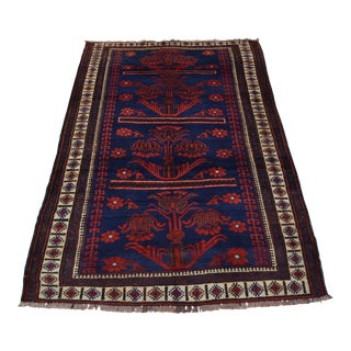 Contemporary Turkish Hand-Knotted Rug - 4′8″ × 7′4″ For Sale