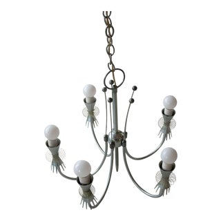 Mid-Century Paavo Tynell Original Chandelier For Sale