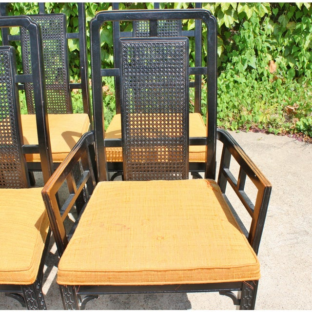 Vintage Chinese Chippendale Chairs - Set of 6 - Image 9 of 9