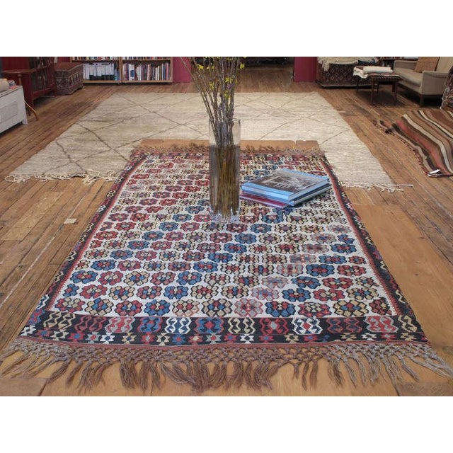An exquisite example of Anatolian Kilim weaving tradition from a region known with its finely woven masterpieces. Most...