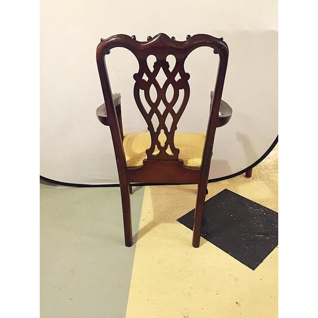 Georgian Style Dining Chairs - Set of 8 - Image 8 of 9