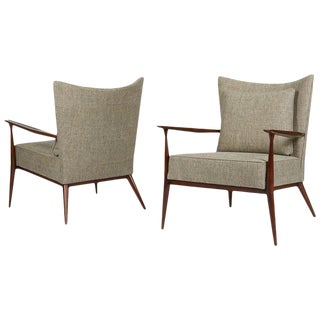 1950s Paul McCobb Lounge Chairs - a Pair For Sale