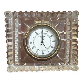 Waterford Traditional Desk Clock For Sale