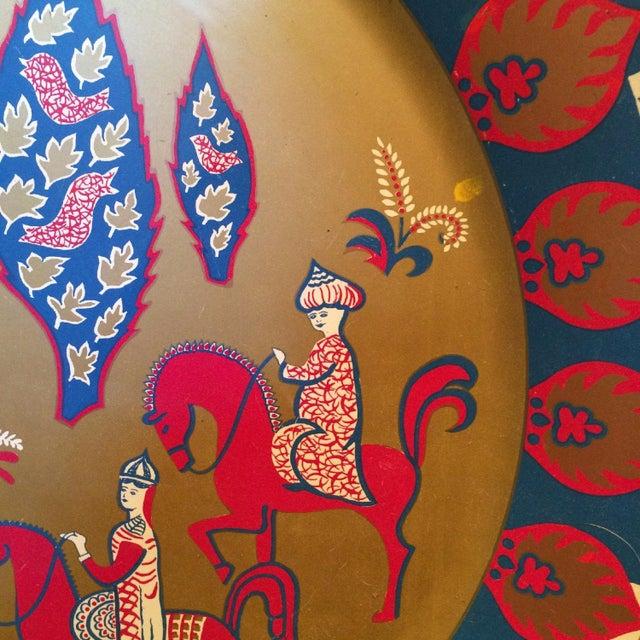 Taj Mahal Decorative Metal Plate - Image 2 of 4