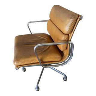 1980s Vintage Herman Miller Brown Eames Chair For Sale