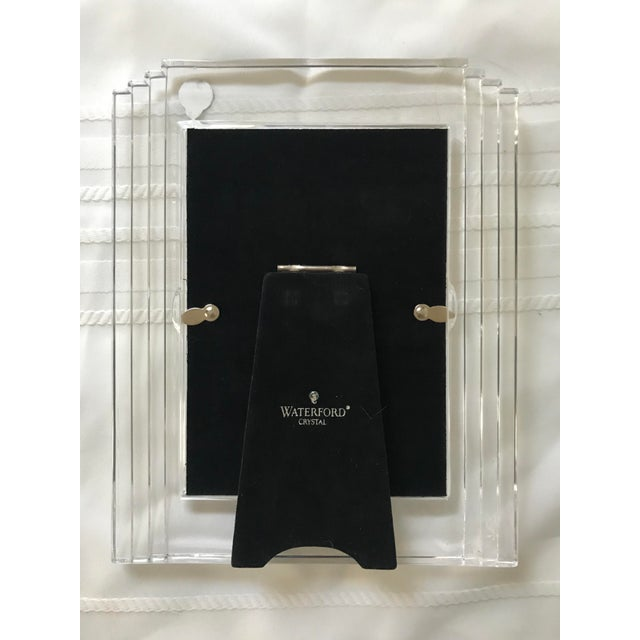 Contemporary Metropolitan Waterford Crystal Picture Frame For Sale In Saint Louis - Image 6 of 7