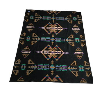 Pendleton Style Wool Blanket For Sale