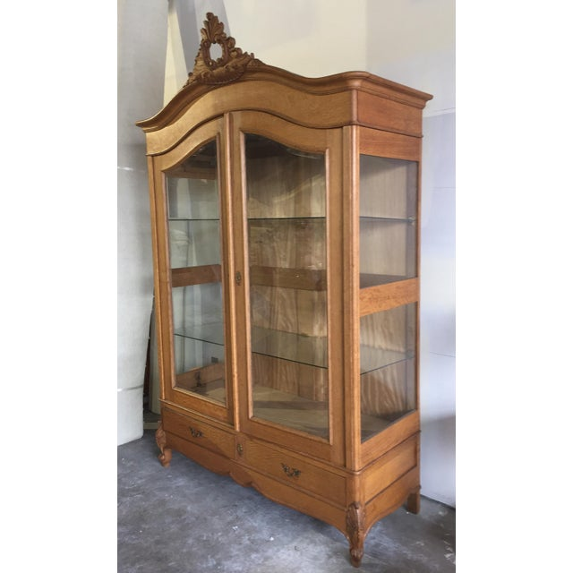 Vintage French Louis XV Style Cabinet - Image 2 of 8