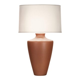 Orange Crackle Gabriel Table Lamp For Sale