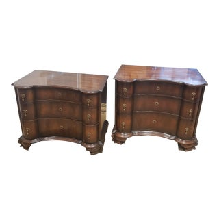 Baker Furniture End Tables - a Pair For Sale
