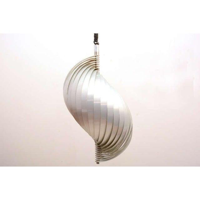 "For your consideration a sculptural Mathieu lamp. Aluminum sheets construct a beautiful ""S"" Shape. I have another Mathieu..."