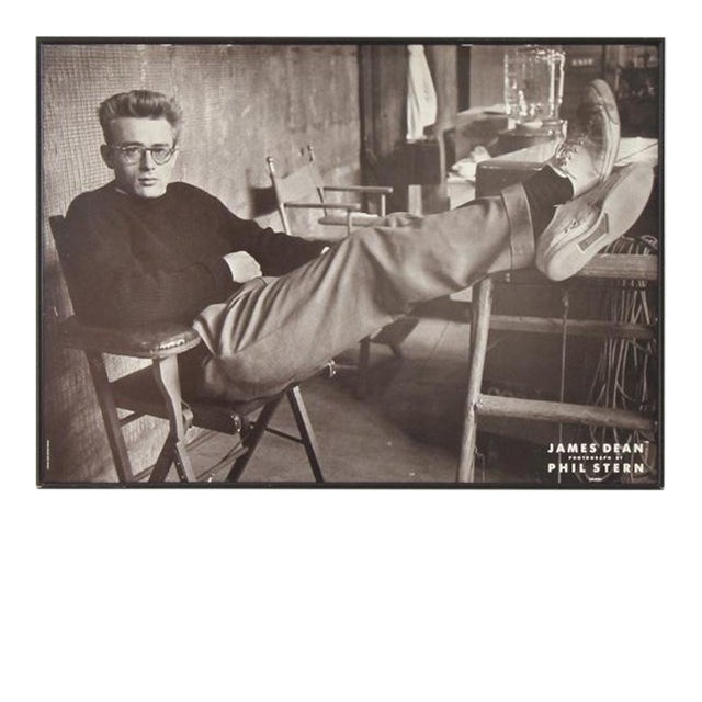 James Dean Framed Poster For Sale