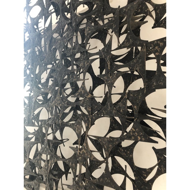 Midcentury Brutalist Wall Sculpture by Marc Weinstein For Sale In Chicago - Image 6 of 7