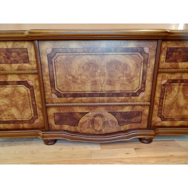 Wood Italian Office Executive Desk For Sale - Image 7 of 8
