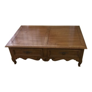 Ethan Allen French Country Legacy Maison Coffe Table For Sale