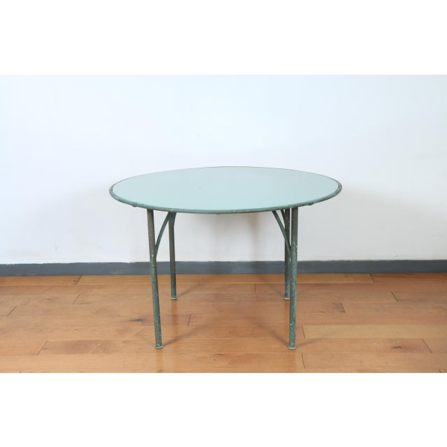 Mid-Century Modern Walter Lamb for Brown Jordan Patio Table For Sale - Image 3 of 7