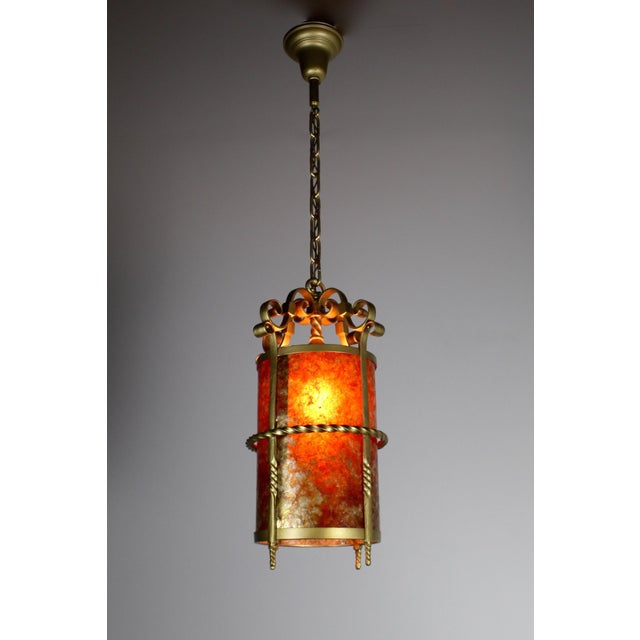 Spanish Colonial Mica Cylinder For Sale - Image 4 of 8