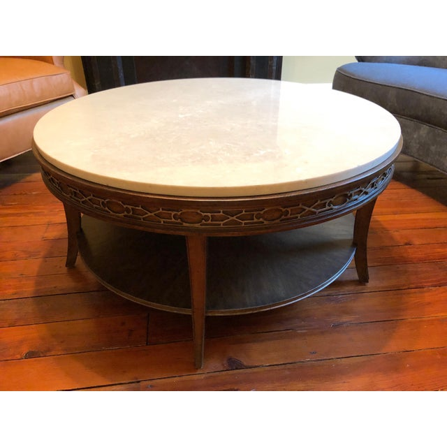 Drexel Heritage Olio Collection Coffee Table For Sale In Philadelphia - Image 6 of 8