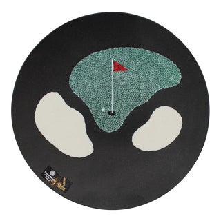 Murano Glass Golf Plate For Sale