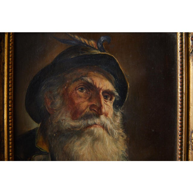 Portrait of a Bavarian Gentleman by Rosemary Gartner For Sale - Image 4 of 12