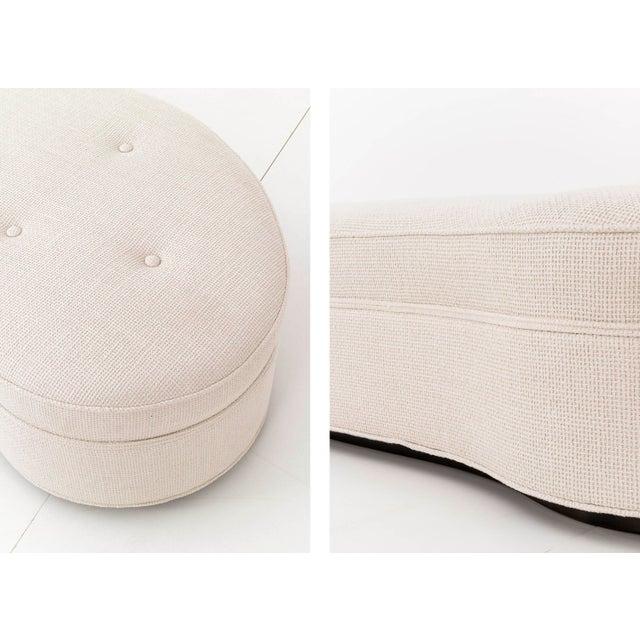 Wood Pair of T.H. Robsjohn-Gibbings Mesa Sofas For Sale - Image 7 of 10