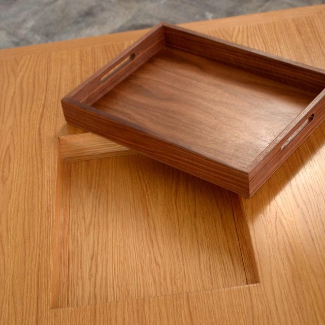 Solid Oak Mandarin Cocktail Table - Image 4 of 4