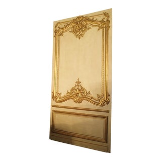 A Large 19th Century Giltwood Boiserie Panel from France