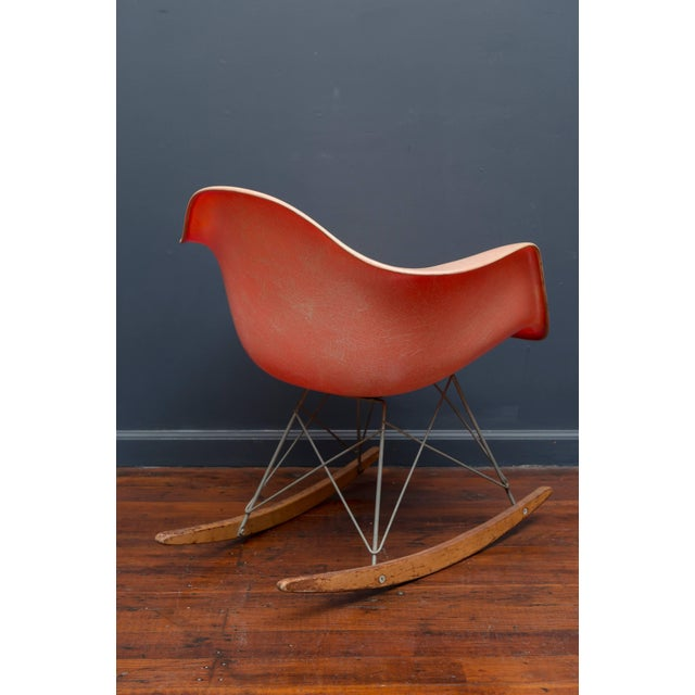 Charles Eames Charles Eames RAR Rope Edge Zenith Rocker For Sale - Image 4 of 8