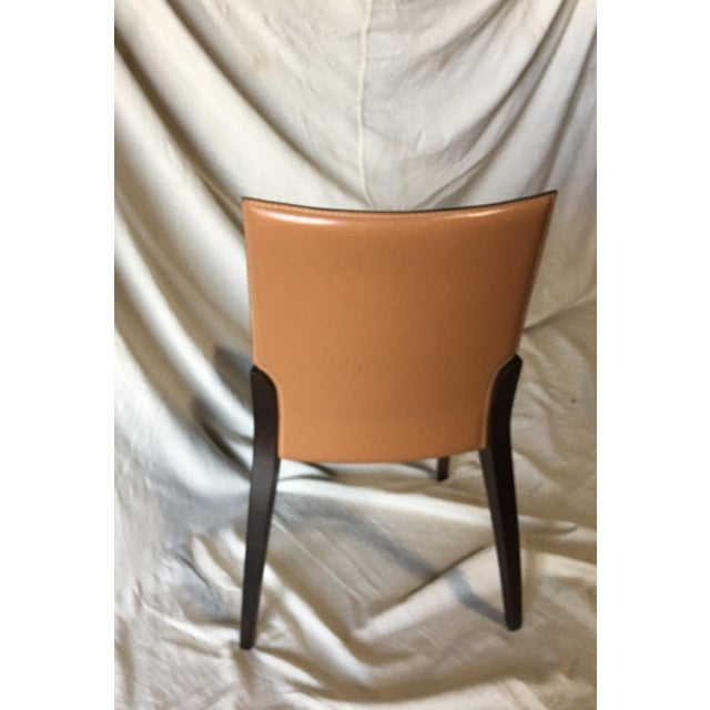 Modern Leather Dining Chairs by Cattelan Italia - Set of 6 For Sale - Image 3 of 13
