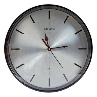 Seiko Ship's Clock, 1980s For Sale