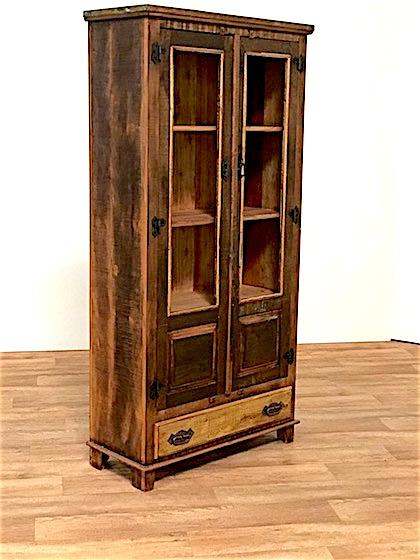 Reclaimed Wood Armoire Storage Cabinet   Image 4 Of 6