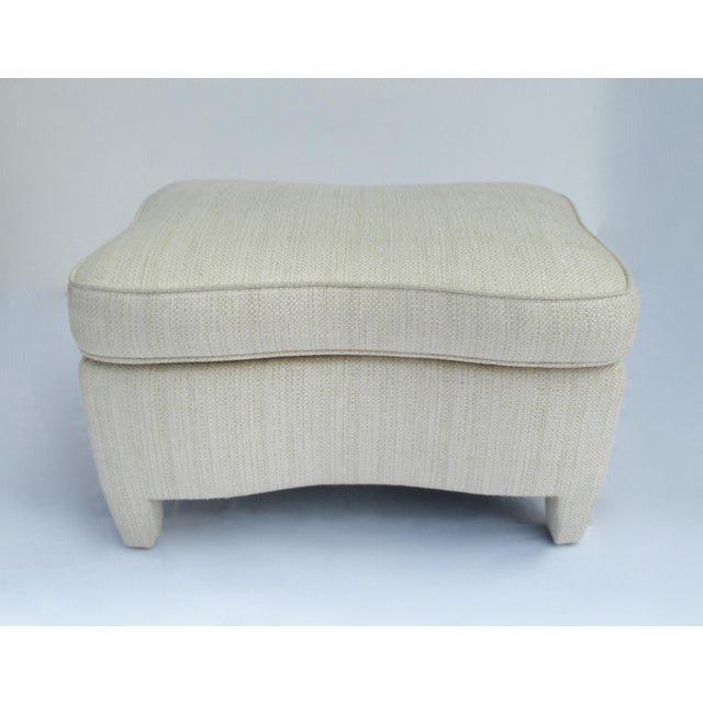 Donghia Ogee Club Chair and Ottoman For Sale - Image 9 of 13