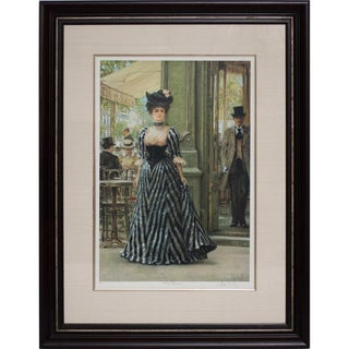 """Original Signed Alan Mailey """"The Promise"""" Lithograph For Sale"""