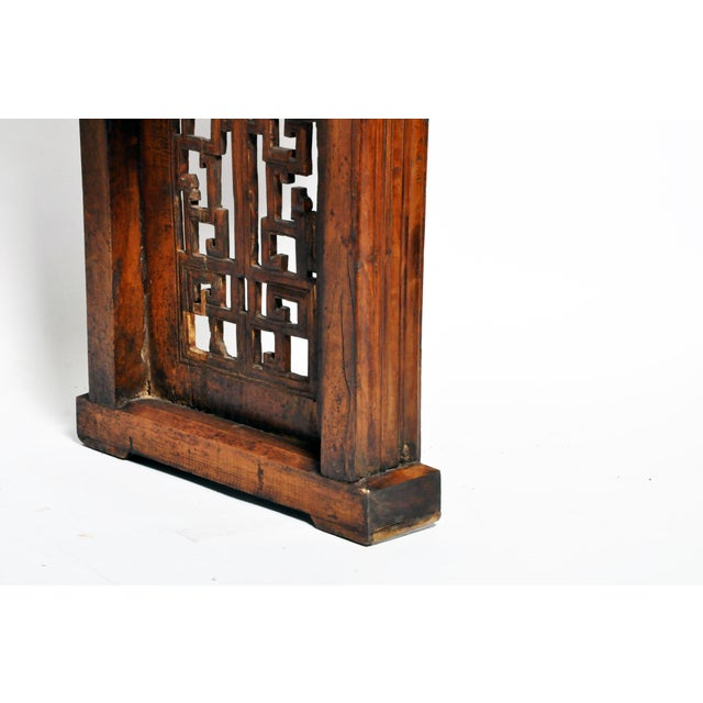 Late Qing Dynasty Chinese Altar Table For Sale - Image 9 of 13