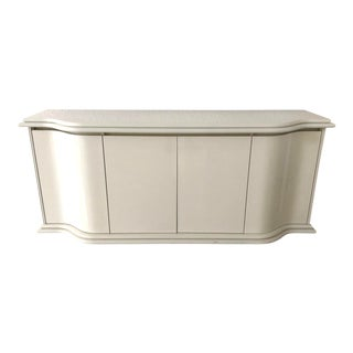 1990s Italian White Credenza/Sideboard For Sale