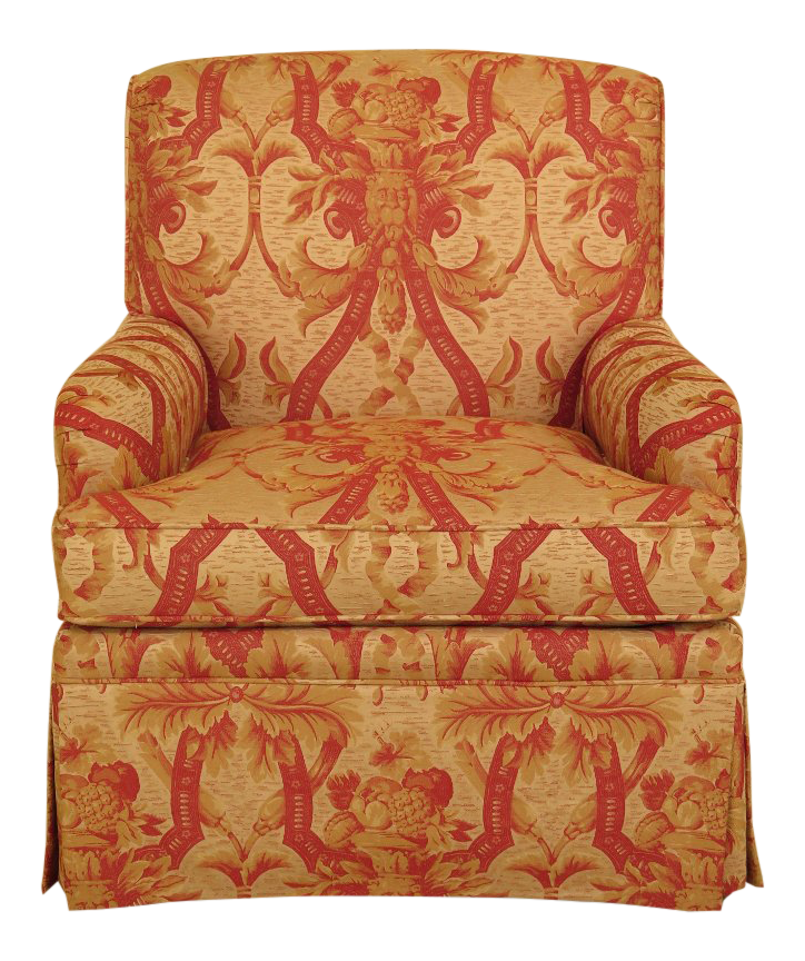 Exceptionnel Kindel Fully Upholstered Skirted Club Chair