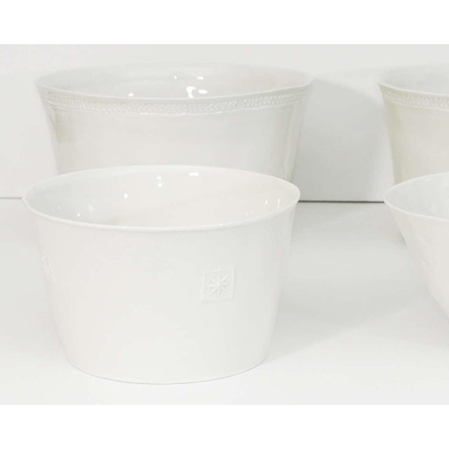 Early 21st Century Collection of Handmade Limoges Porcelain - Set of 6 For Sale - Image 5 of 9