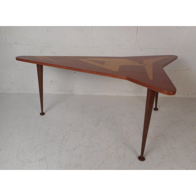 Beautiful Contemporary Modern Boomerang Coffee Table For Sale - Image 10 of 10